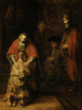 Return of the Prodigal Son  c 1669