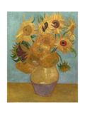 Sunflowers, c.1889 Reproduction d'art par Vincent Van Gogh