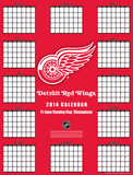 Detroit Red Wings - 2014 Giant Poster Calendar