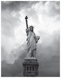 Majestic Lady Liberty Reproduction d'art