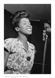 Sarah Vaughan  WMCA Microphone