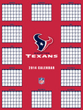 Houston Texans - 2014 Giant Poster Calendar