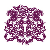 Chrysanthemum Cutout