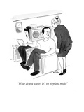 """""""What do you want It's on airplane mode!"""" - Cartoon"""