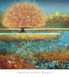 Jewel River Reproduction d'art par Melissa Graves-Brown