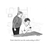 """""""I don't think Siri was this condescending in iOS 6"""" - Cartoon"""