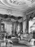 Principal Drawing Room  Sandringham  Norfolk  from 'The English Country House'