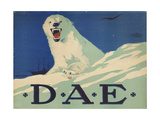 Promotion Poster for the German Arctic Expedition  1913