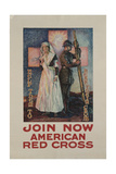 Recruitment Poster for the American Red Cross  Printed by Niagara Co  Buffalo  1917