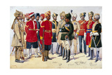 Imperial Service Troops  Illustration from 'Armies of India' by Major GF MacMunn  Published in…