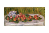 Still Life of Strawberries and a Tea-Cup  c1905