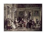 John Paul Jones and Benjamin Franklin at the Court of Louis XVI