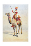 Sowar of the Bikanir Camel Corps  Illustration for 'Armies of India' by Major GF MacMunn …