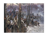 Battle of Olszynk Grochowsk  Warsaw  25 February 1831  1912