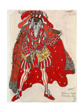 Costume of a Guest for the Ballet 'Legend of Joseph'  c1914