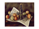 Still Life with Apples  1921