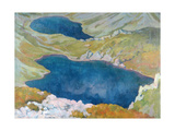 Hinczow Lakes in the Tatra Mountains  1907