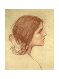 Head of a Girl  c1905