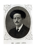 James Joyce (1882-1941) from 'The Illustrated London News'  1st August 1914