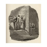 The Meeting  from 'The Adventures of Oliver Twist' by Charles Dickens (1812