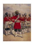 Soldiers of the 45th Rattray's Sikhs 'The Drums' Jat Sikhs  Illustration for 'Armies of India' by…
