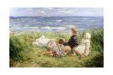 Sea Gulls and Sapphire Seas  1912