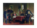 Discussion of a War Strategy in Versailles  1900