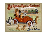 By Road and Rail in Catland  20Th