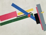 Suprematist Construction Giclée par Kasimir Malevich