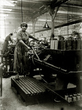 Woman in an Arms Factory  c1916