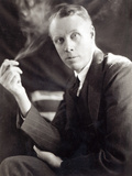 Sinclair Lewis (1885-1951)  Photographed by Underwood and Underwood  1930