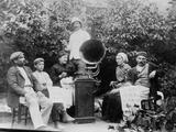 Listening to the Gramophone Near Beziers  c 1910