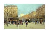 Boulevard Haussmann  in Paris