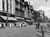 Looking East Along Argyle Street on a Saturday Afternoon  1955