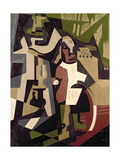 Composition with People  1916