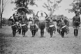 4th King's African Rifles Drummers  Uganda  c1920s