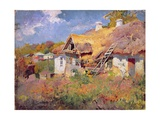 Ukrainian Cottages  1906