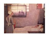 Sleeping Children with their Nurse