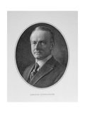 Portrait of Calvin Coolidge (1872-1933) 30th President of the United States of America