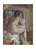 Nude on a Bed  c1914
