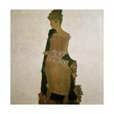 Gerti Schiele  1909