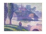 Mydlow Village  Poland  1907