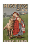 Poster Advertising Nestle's Milk  1900