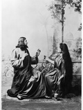 Apparition of Jesus Christ to Mary Magdalene from the Passion Play at Oberammergau  1900