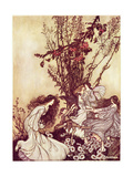 """Dancing with the Fairies"" from 'Peter Pan in Kensington Gardens' by JM Barrie  1906 34:Peter…"
