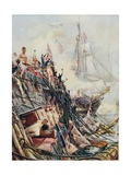 Crippled But Unconquered: The 'Belleisle' at the Battle of Trafalgar  21st October 1805  from…