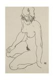 Seated Female Nude  1918