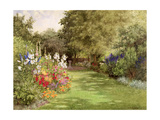A Garden in July  c1910