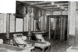 The Turkish Bath Cooling Room on Board the Titanic  1912