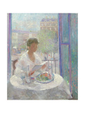 Lady Reading at an Open Window